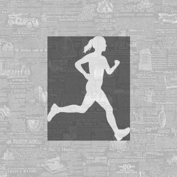 Newspaper Girl on the Run